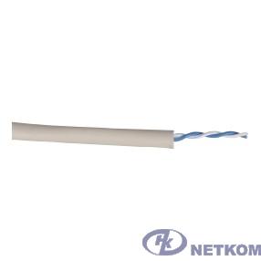 ITK BC1-C5E01-111 Каб. в. п. U/UTP кат. 5E 1 пара PVC 500м сер. GENERICA