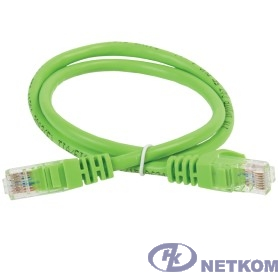 ITK PC02-C5EU-1M Коммутационный шнур (патч-корд), кат.5Е UTP, 1м, зеленый