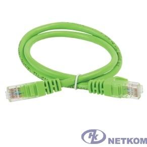 ITK PC02-C5EU-1M5 Коммутационный шнур (патч-корд), кат.5Е UTP, 1,5м, зеленый