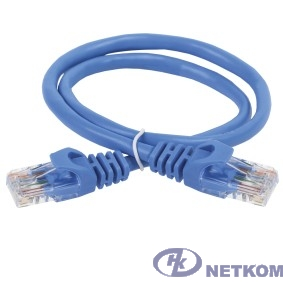 ITK PC03-C5EU-2M Коммутационный шнур (патч-корд), кат.5Е UTP, 2м, синий