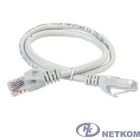 ITK PC01-C5EUL-3M Коммутационный шнур (патч-корд), кат.5Е UTP, LSZH, 3м, серый