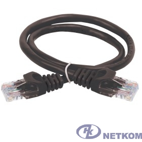 ITK PC09-C5EU-3M Коммутационный шнур (патч-корд), кат.5Е UTP, 3м, черный