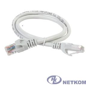 ITK PC01-C5EUL-5M Коммутационный шнур (патч-корд), кат.5Е UTP, LSZH, 5м, серый