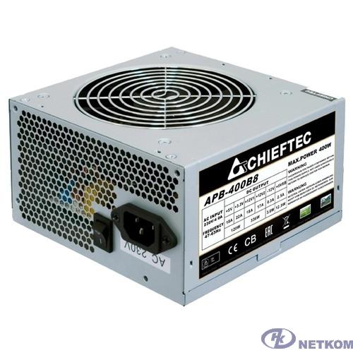 Chieftec 400W OEM (APB-400B8) ATX v.2.3, A.PFC, Fan 12cm