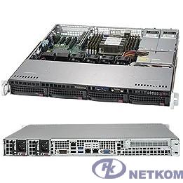 Сервер.платформа SuperMicro SYS-5019P-MTR 1U 1xS3647 TDP205W 4LFF 2x10GbE 1xFH 2x400W