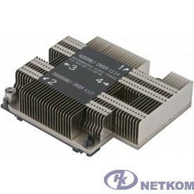 Supermicro SNK-P0067PD Радиатор для процессора в корпус 1U и в сокет LGA3647-0, рассеивает до 140Вт тепла
