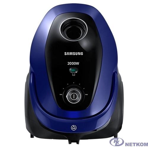 Samsung VC20M251AWB Пылесос, мешок/циклонный фильтр, 2000 Вт, синий