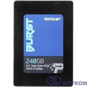 Patriot SSD 240Gb Burst PBU240GS25SSDR {SATA 3.0}