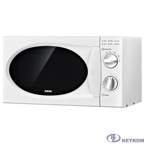BBK 20MWS-715M/W Микроволновая печь, 700 Вт, 20 л, белый