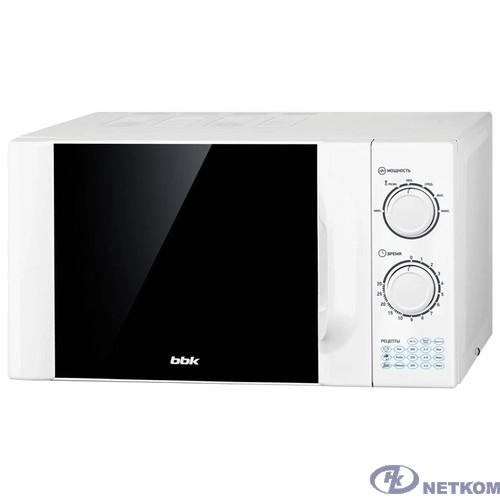 BBK 23MWS-927M/W (W) Микроволновая печь, 23л. 900Вт белый