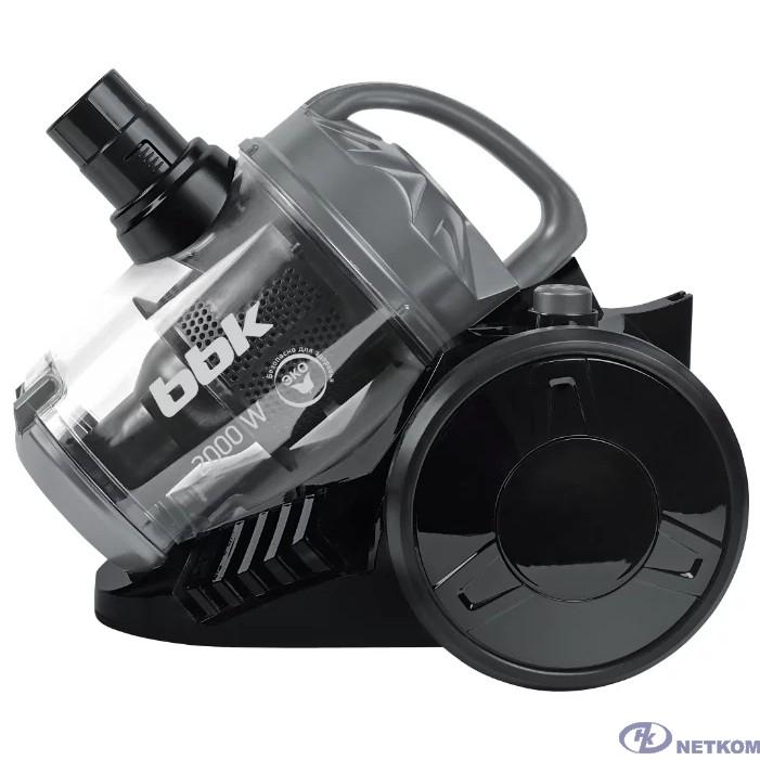 BBK BV1503 (B/DG) Пылесос, циклонный фильтр, 1600 Вт, черный/ тёмно-серый