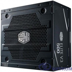 Cooler Master Elite V3 500W (MPW-5001-ACABN1-EU) ATX, 120mm, 3xSATA, 1xPCI-E(6+2), APFC