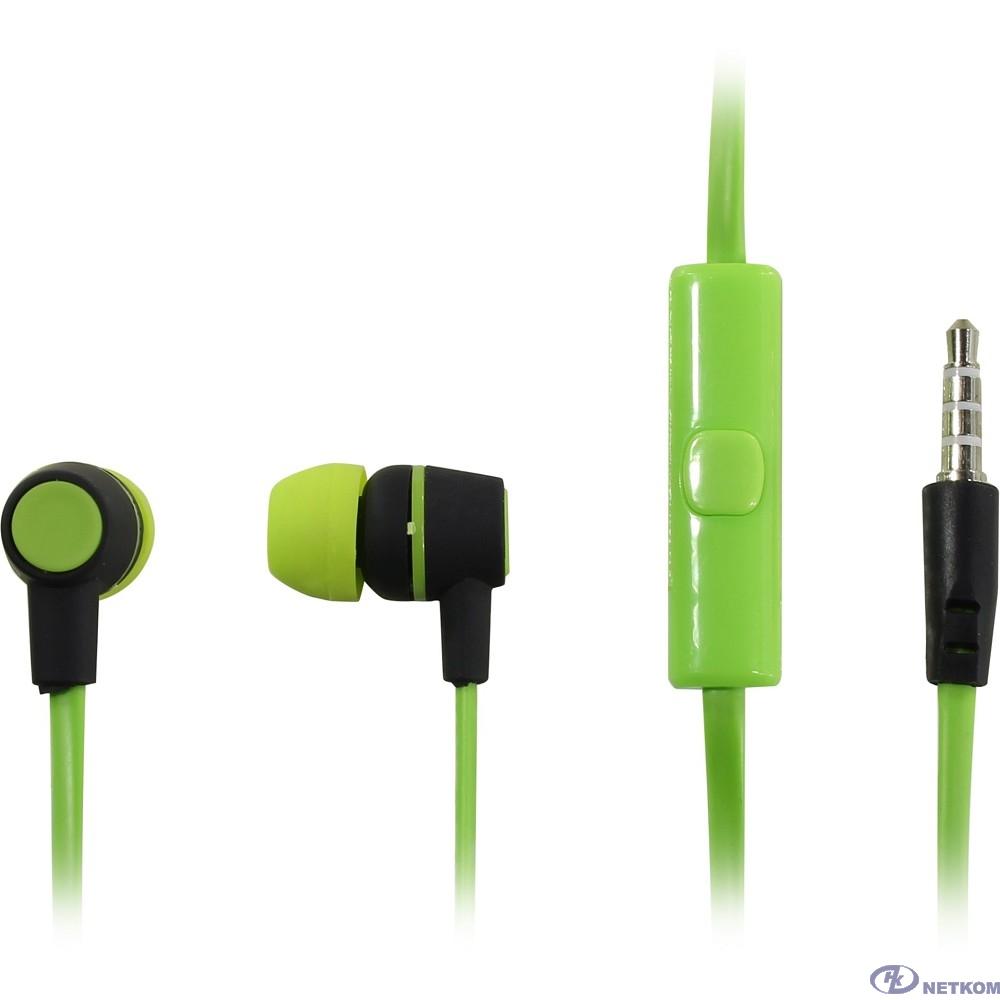 HARPER HV-107 green {Чувствительность: 105dB±3dB; Сопротивление: 32?; Частотный диапазон: 20-20000Hz; Длина кабеля: 1.2m}