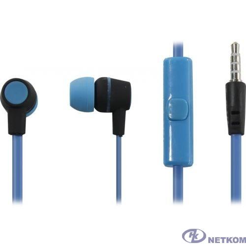 HARPER HV-107 blue {Чувствительность: 105dB±3dB; Сопротивление: 32?; Частотный диапазон: 20-20000Hz; Длина кабеля: 1.2m}