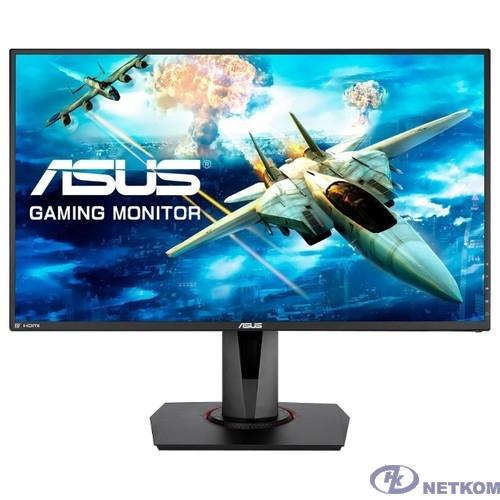"ASUS LCD 27"" VG278QR черный {TN 1920x1080 165Hz 0.5ms 400cd 1000:1 170/160 DisplayPort HDMI DVI 2Wx2} [90LM03P3-B01370]"
