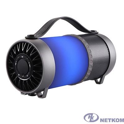 Dialog Progressive AP-1010 - акустическая колонка-труба c RGB фонарем, 12W RMS, Bluetooth, FM+USB+SD