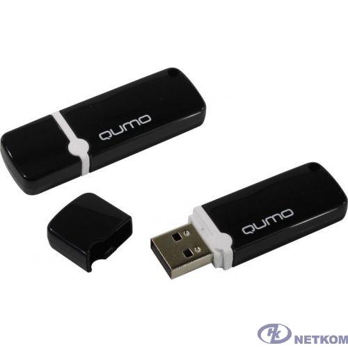 USB 2.0 QUMO 16GB Optiva 02 Black [QM16GUD-OP2-black]