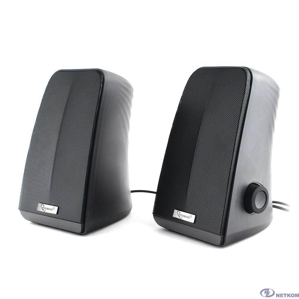 Gembird SPK-505, черный, 10 Вт, рег. громкости, USB-питание