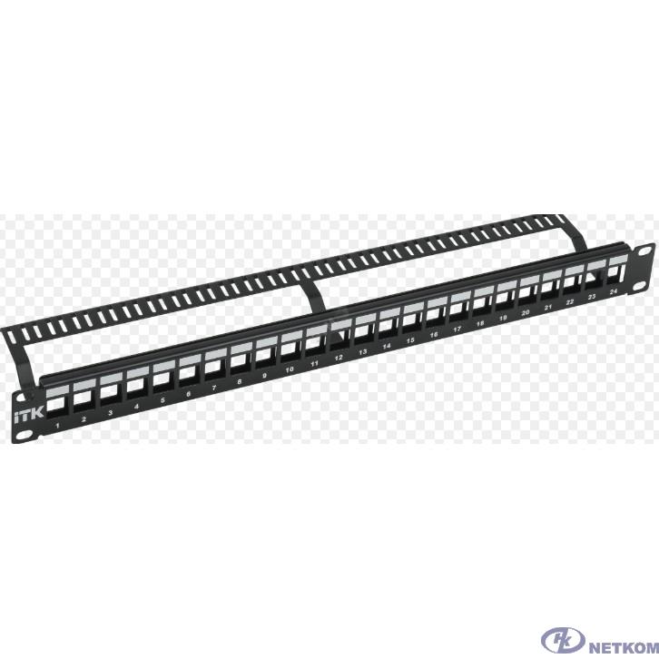 ITK PP24-1UMU 1U Модульная патч-панель UTP 24 порта