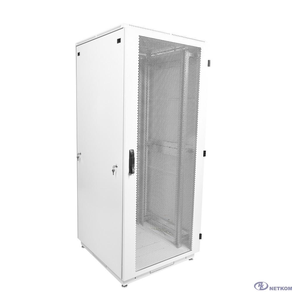ЦМО Шкаф телекоммуникационный напольный 33U (600 х 800) дверь перфорированная 2 шт.(ШТК-М-33.6.8-44АА)