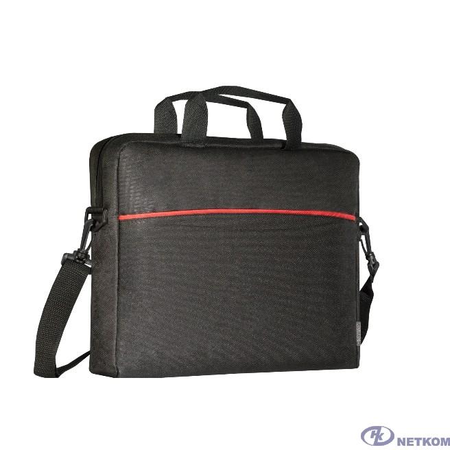 "Сумка для ноутбука Defender Lite 15.6"" черный, карман (26083)"