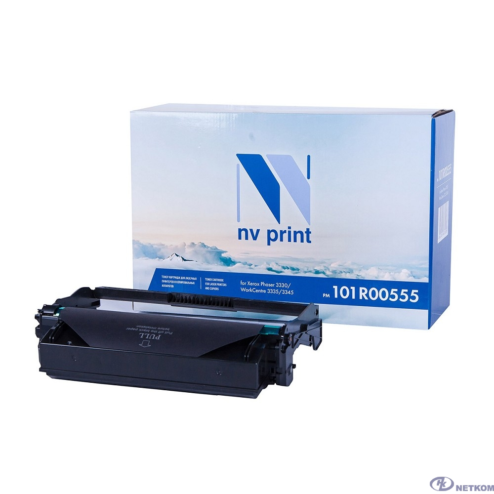 NV Print 101R00555 Драм-юнит для Xerox WC 3335/3335DNI/3345/3345DNI, 30К
