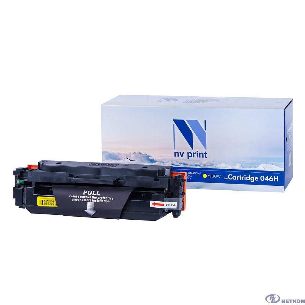 NV Print Cartridge 046H Y Картридж  для Canon LBP-653/654/MF732/734/735, Yellow, 5K