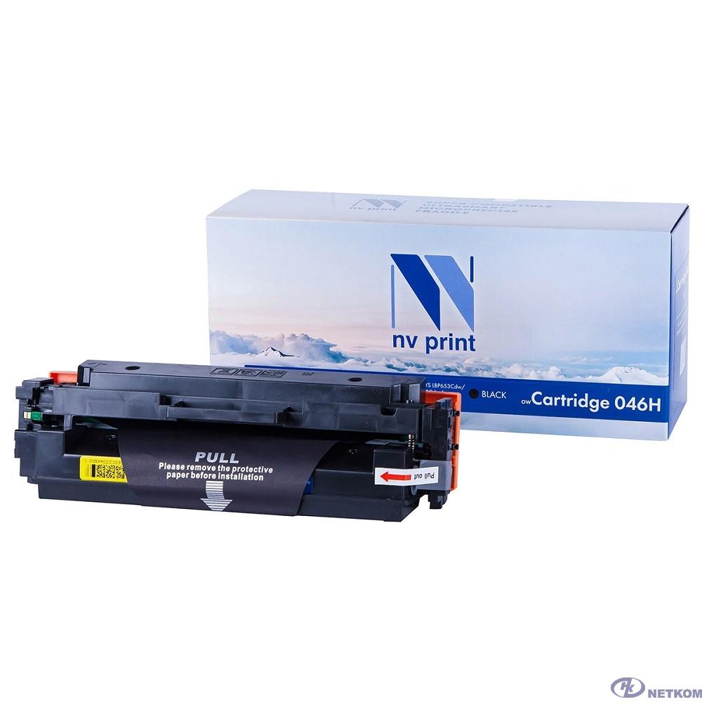 NV Print Cartridge 046H BK Картридж  для Canon LBP-653/654/MF732/734/735, Bk, 6,3K