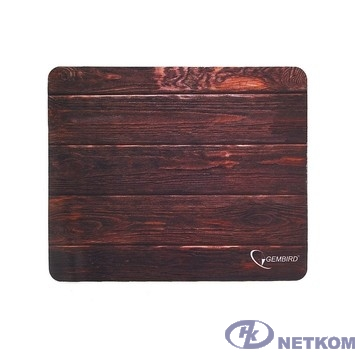 """Коврик для мыши Gembird MP-WOOD, рисунок """"дерево"""", размеры 220*180*1мм, полиэстер+резина"""