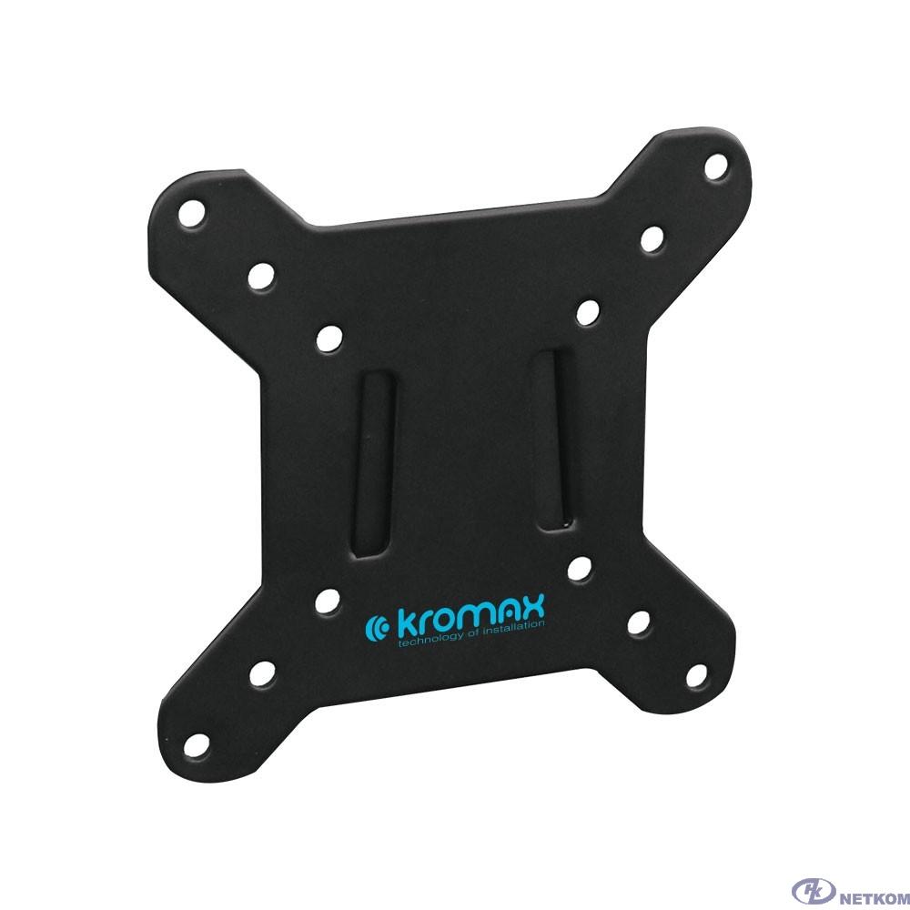 """Кронштейн Kromax VEGA-3 new черный 15""""-32"""" макс.20кг настенный фиксированный"""