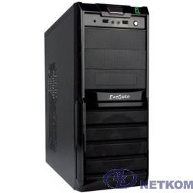 Exegate EX278399RUS Корпус Miditower Exegate XP-329S Black, ATX, <XP500, Black,120mm>, 2*USB, Audio