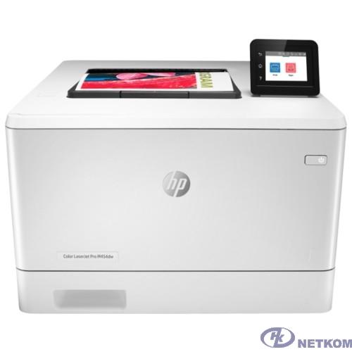 HP Color LaserJet Pro M454dw (W1Y45A) { A4,600x600dpi,27(27)стр/мин, ImageREt3600,128Mb, Duplex, 2 trays 50+250,USB/ GigEth, ePrint, AirPrint, PS3,Wi-fi}