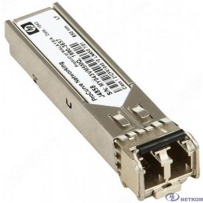HP J4858D Трансивер HPE Aruba 1G SFP LC SX 500m MMF XCVR