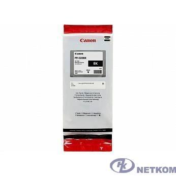Canon PFI-320BK  Картридж  для Canon TM-200/TM-205/TM-300/TM-305, чёрный, 300 мл (GJ)