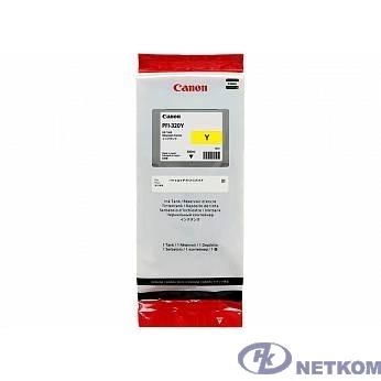Canon PFI-320Y Картридж  для Canon TM-200/TM-205/TM-300/TM-305, Жёлтый. 300 мл (GJ)