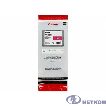 Canon PFI-320M Картридж  для Canon TM-200/TM-205/TM-300/TM-305, пурпурный. 300 мл (GJ)