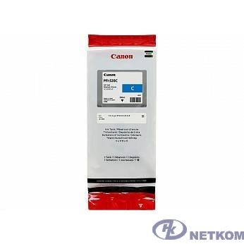 Canon PFI-320С Картридж  для Canon TM-200/TM-205/TM-300/TM-305, голубой, 300 мл (GJ)