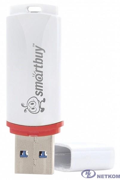 Smartbuy USB Drive 4Gb Crown White SB4GBCRW-W