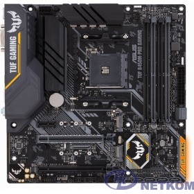 ASUS TUF B450M-PRO GAMING  RTL {Socket AM4, B450, 4*DDR4, DVI+HDMI, CrossFireX, SATA3 + RAID, Audio, Gb LAN, USB 3.1*6, USB 2.0*6, COM*1 header (w/o cable), mATX}