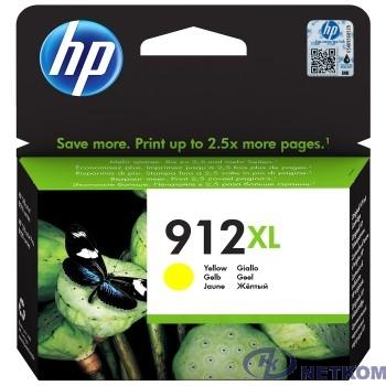 HP 3YL83AE Картридж № 912 струйный желтый (825 стр) {HP OfficeJet 801x/802x}