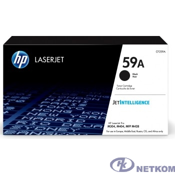 HP CF259A Картридж HP 59A {LJ M304/M404/MFP M428} (3000 стр)