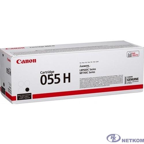 Canon Cartridge 055 HBK 3020C002  Тонер-картридж для Canon MF746Cx/MF744Cdw (7600 стр.)  чёрный (GR)