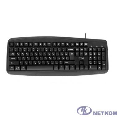 CBR KB 151, Клавиатура проводная полноразмерная, USB, 105 клавиш, ABS-пластик, длина кабеля 1,8 м