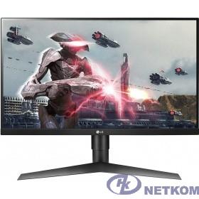 "LCD LG 27"" 27GL650F-B Gaming черный {IPS LED 1920x1080 1ms 144Гц 16:9 1000:1 400cd 178/178 2xHDMI2.0 DisplayPort1.2 FreeSync G-Sync(comp)}"