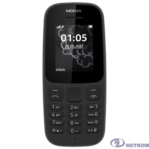 Nokia 105 DS BLACK (2019) [16KIGB01A01]