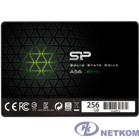 Silicon Power SSD 256Gb A56 SP256GBSS3A56B25 {SATA3.0, 7mm}