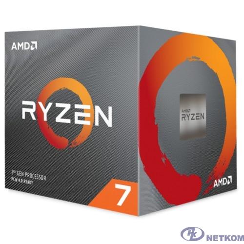 CPU AMD Ryzen 7 3800X BOX {3.9GHz up to 4.5GHz/8x512Kb+32Mb, 8C/16T, Matisse, 7nm, 105W, unlocked, AM4}