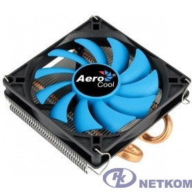 Cooler Aerocool Verkho 2 Slim 105W/ Intel 115*/AMD/ PWM/ Screws