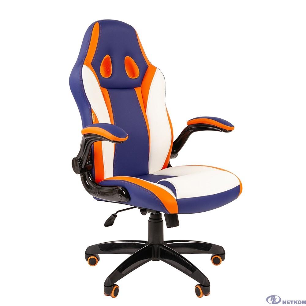 Офисное кресло Chairman   game 15 Россия экопремиум mixcolor (7033039)