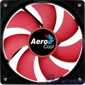 Fan Aerocool Force 12 PWM / 120mm/ 4pin/ Red blade